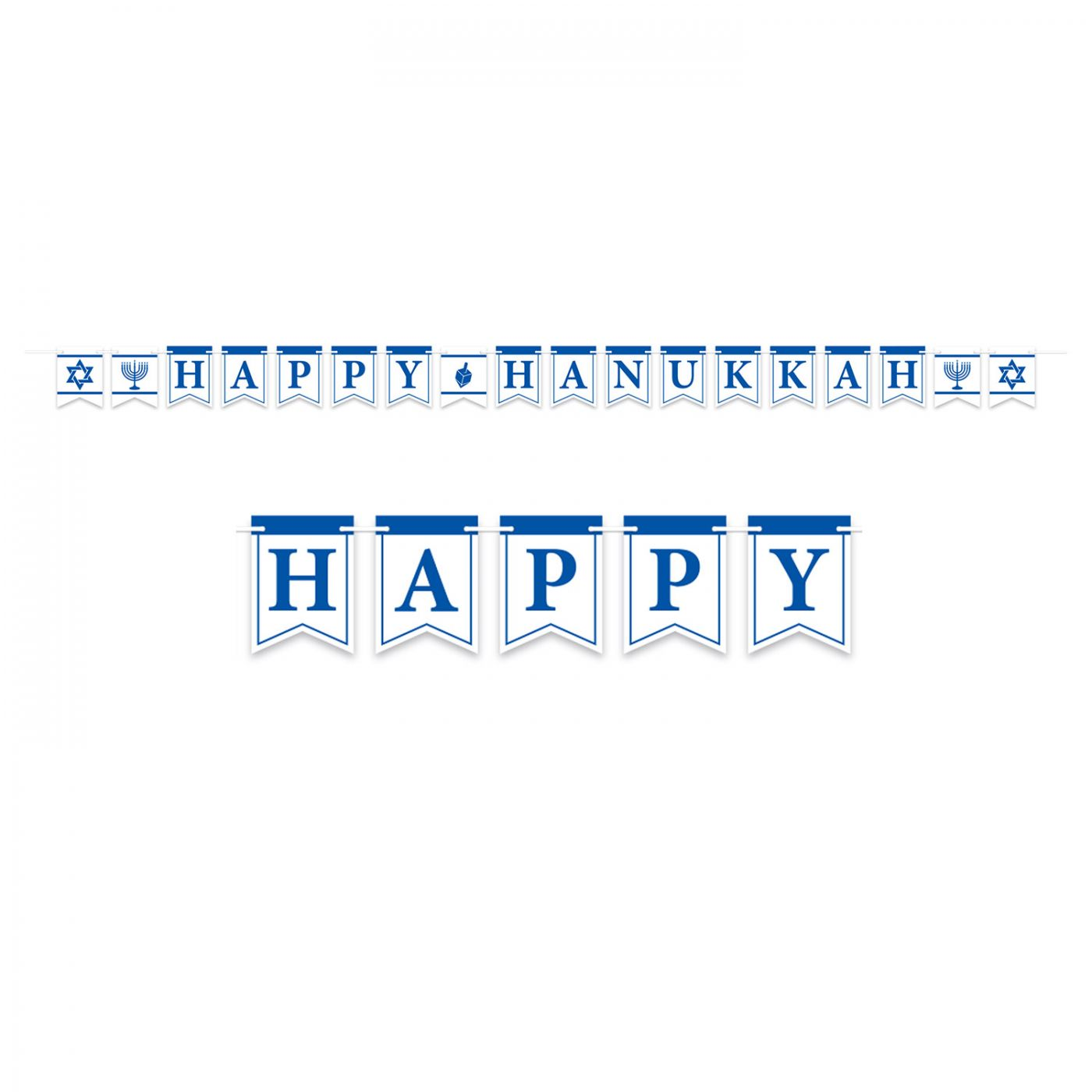 Happy Hanukkah Streamer image