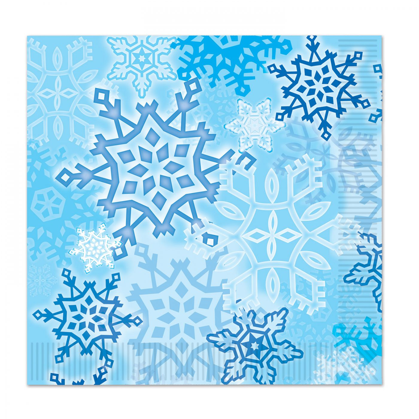 Snowflake Luncheon Napkins image