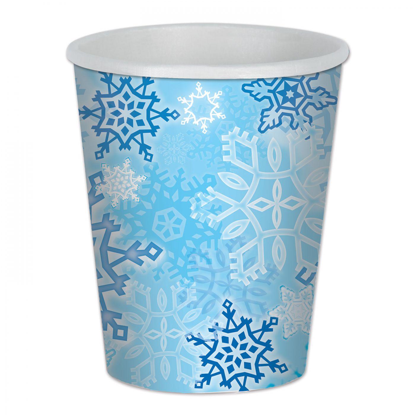 Snowflake Beverage Cups image