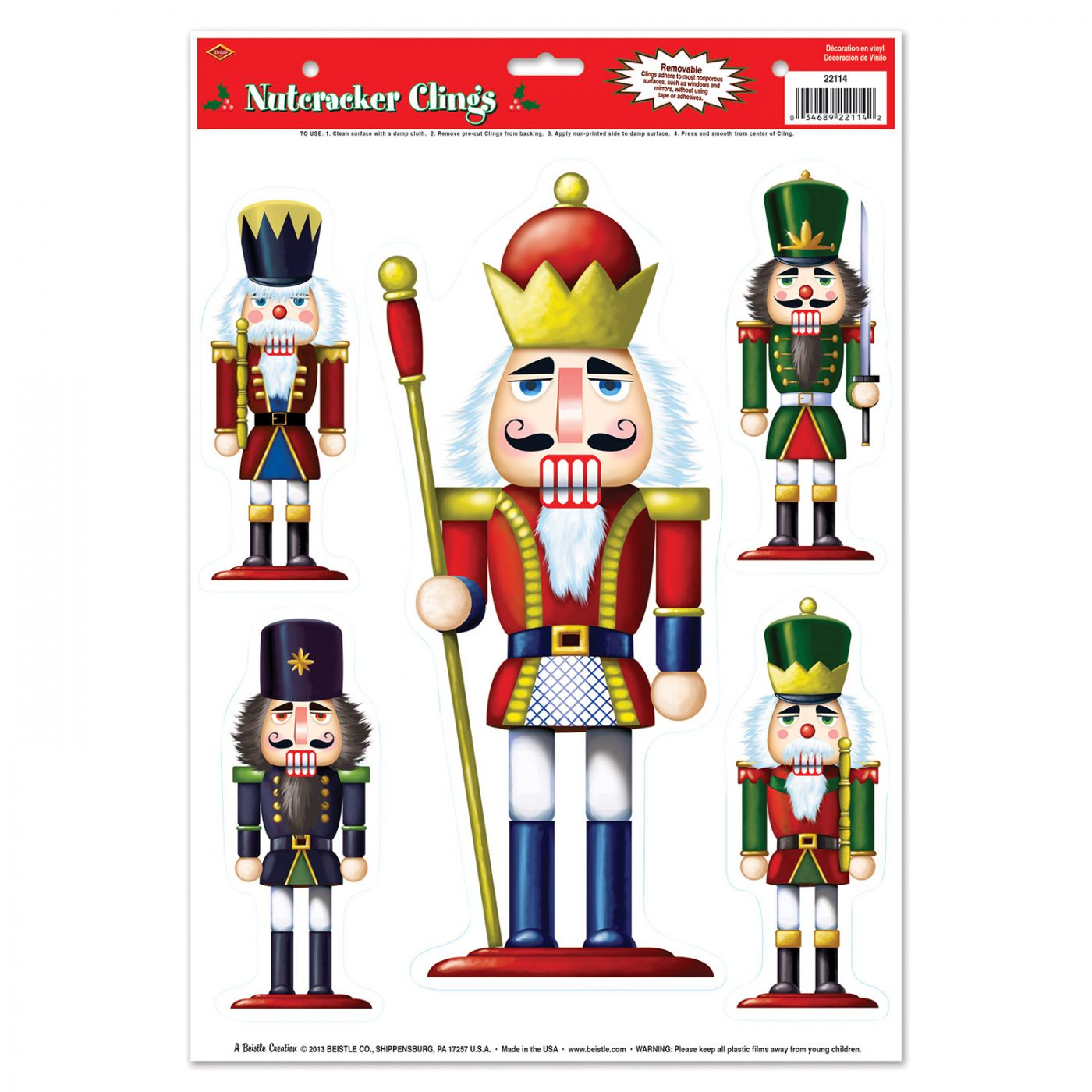 Nutcracker Clings image
