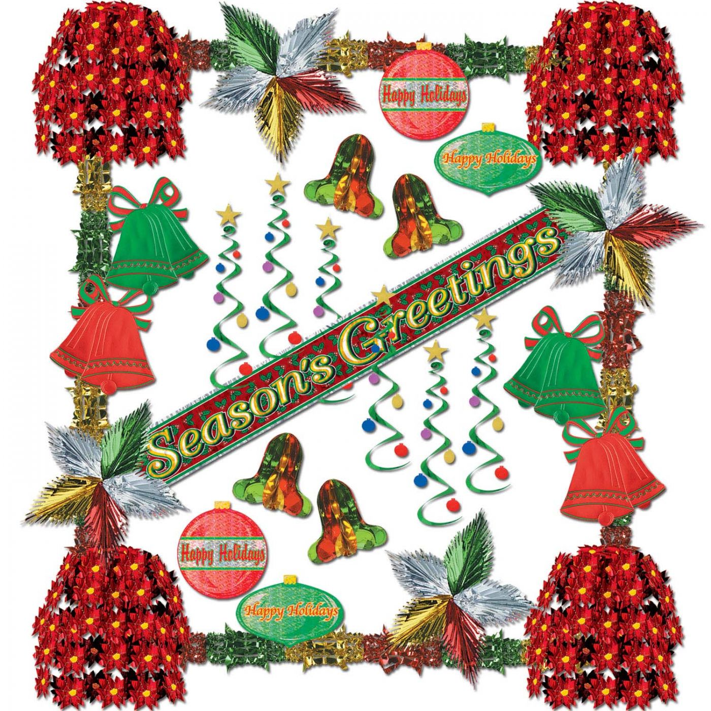 Season's Greetings Rflctns Dec Kit-31 Pc (1) image