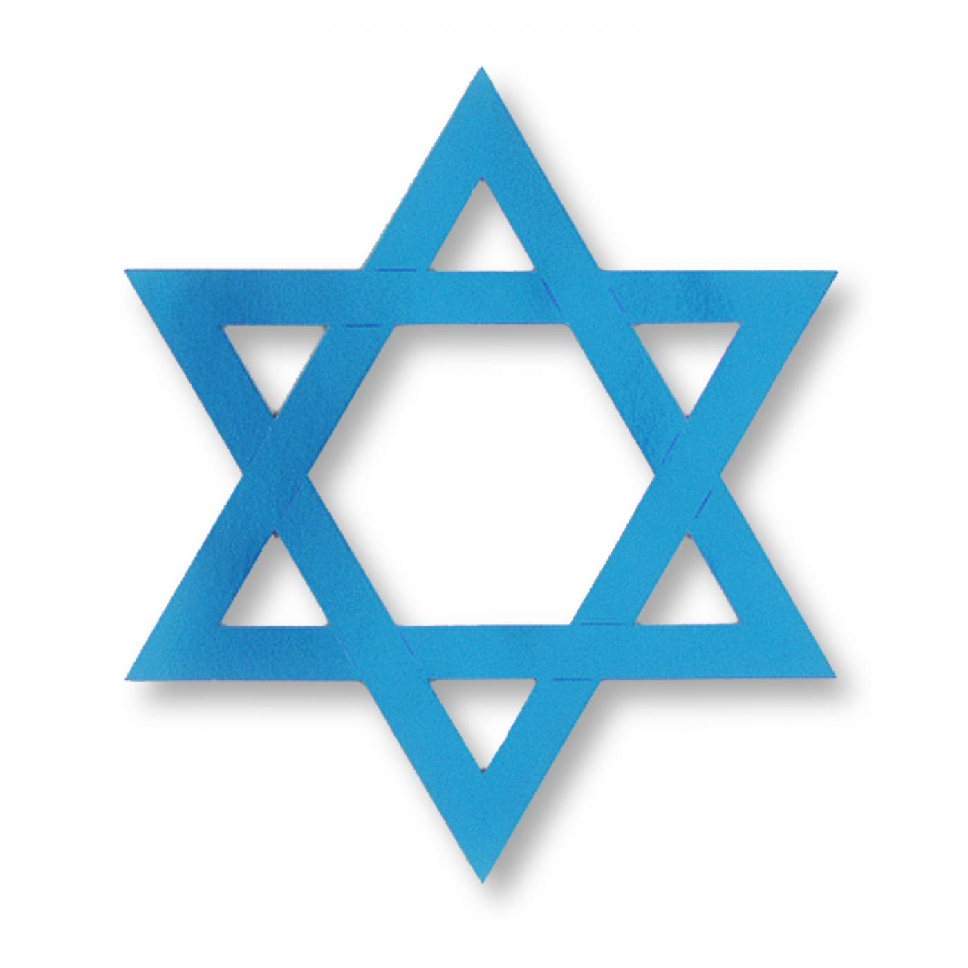 Foil Star Of David (24) image