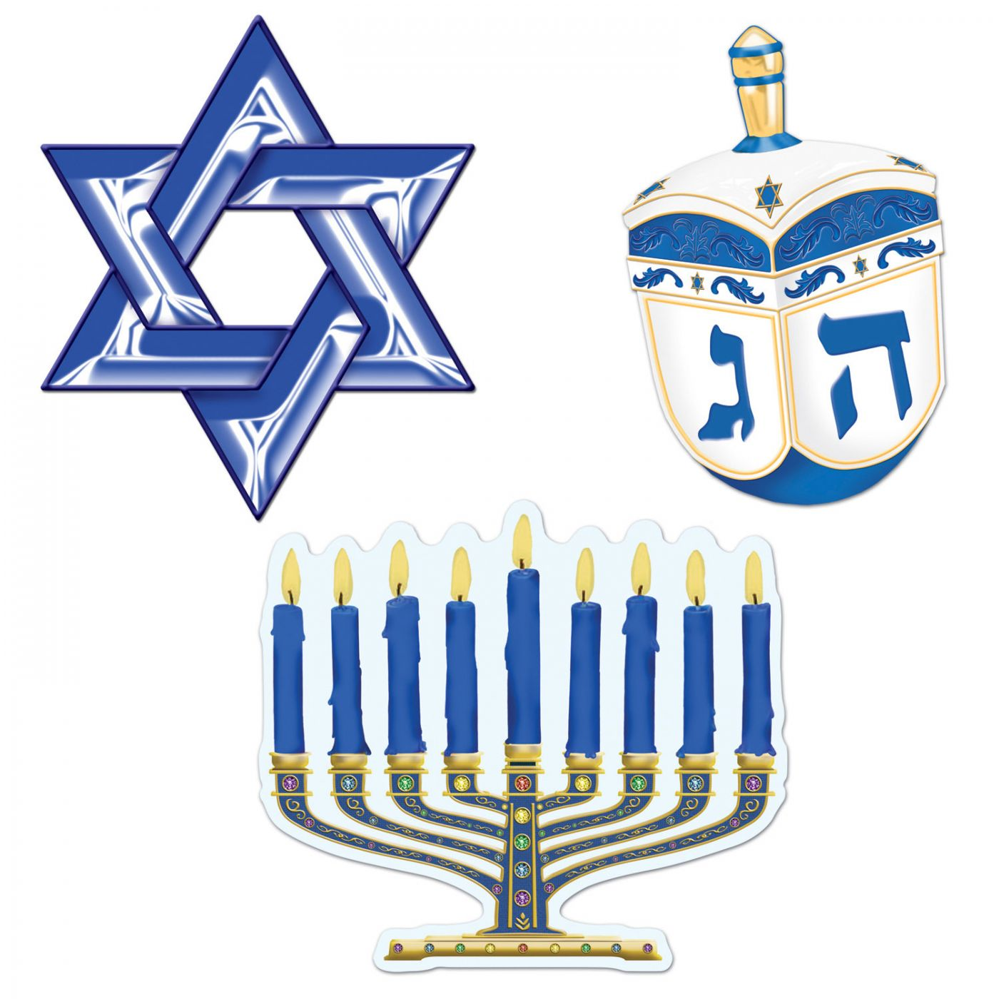 Hanukkah Cutouts image