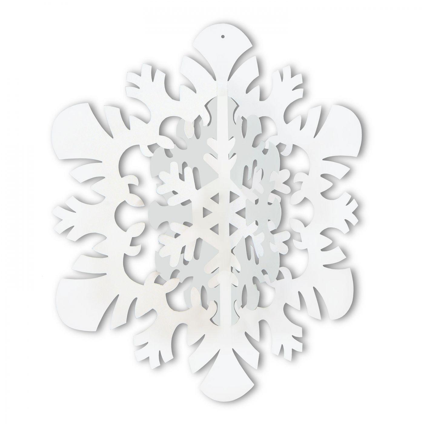 Image of 3-D Hanging Snowflake