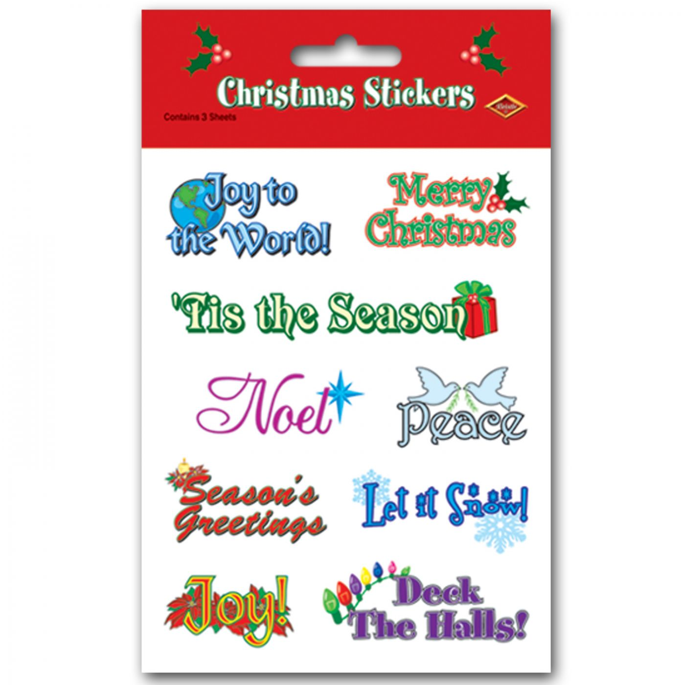 Christmas Expressions Stickers image