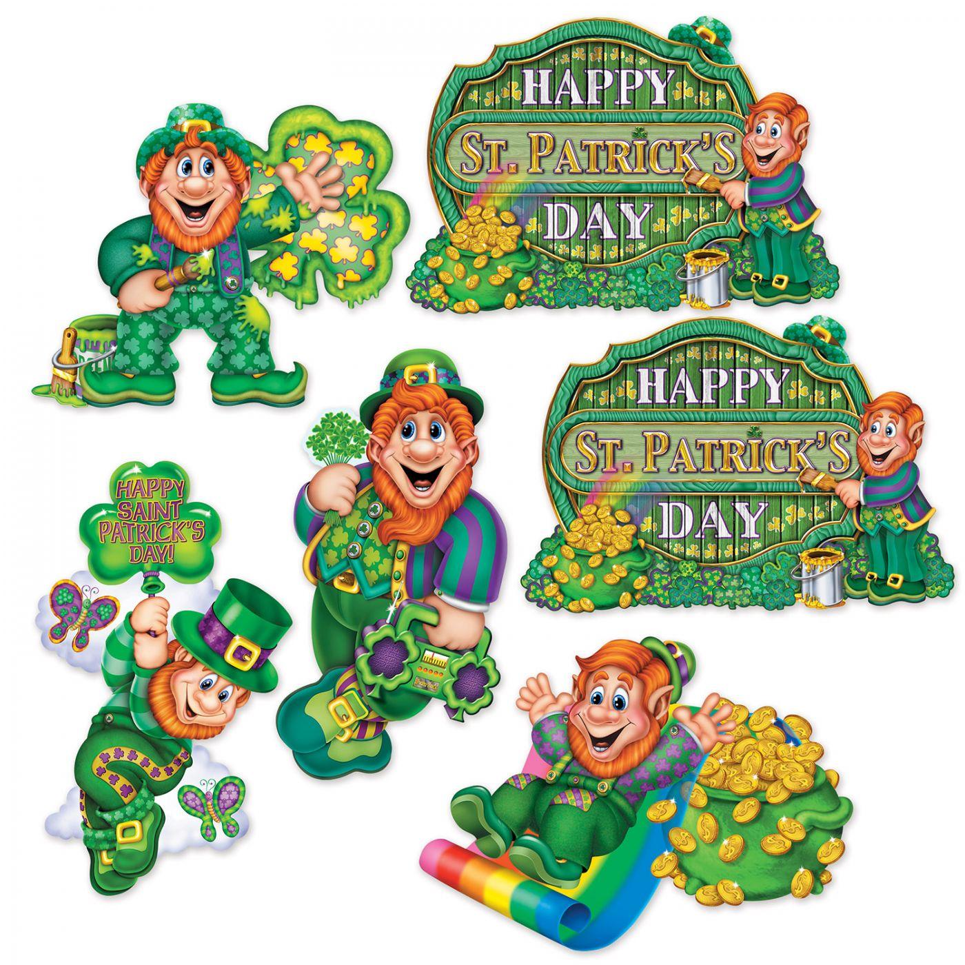 St Patrick's Day Cutouts image