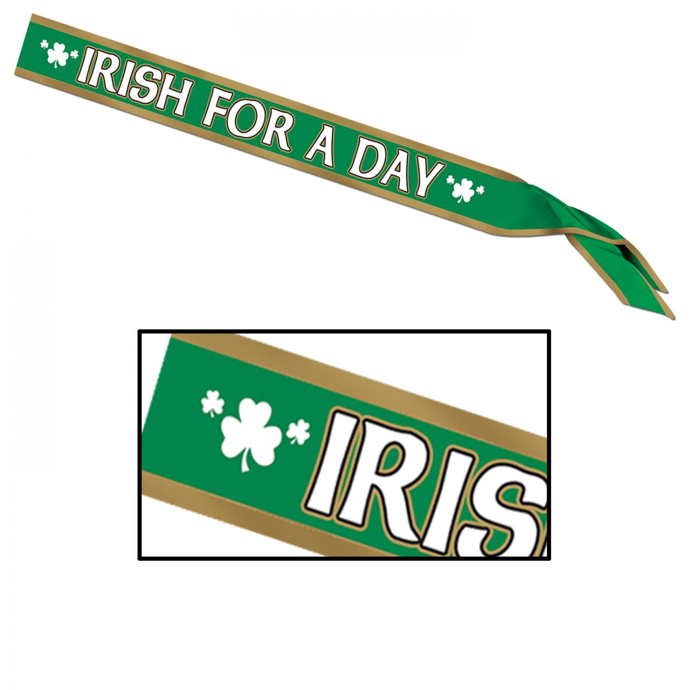 Irish For A Day Satin Sash (6) image