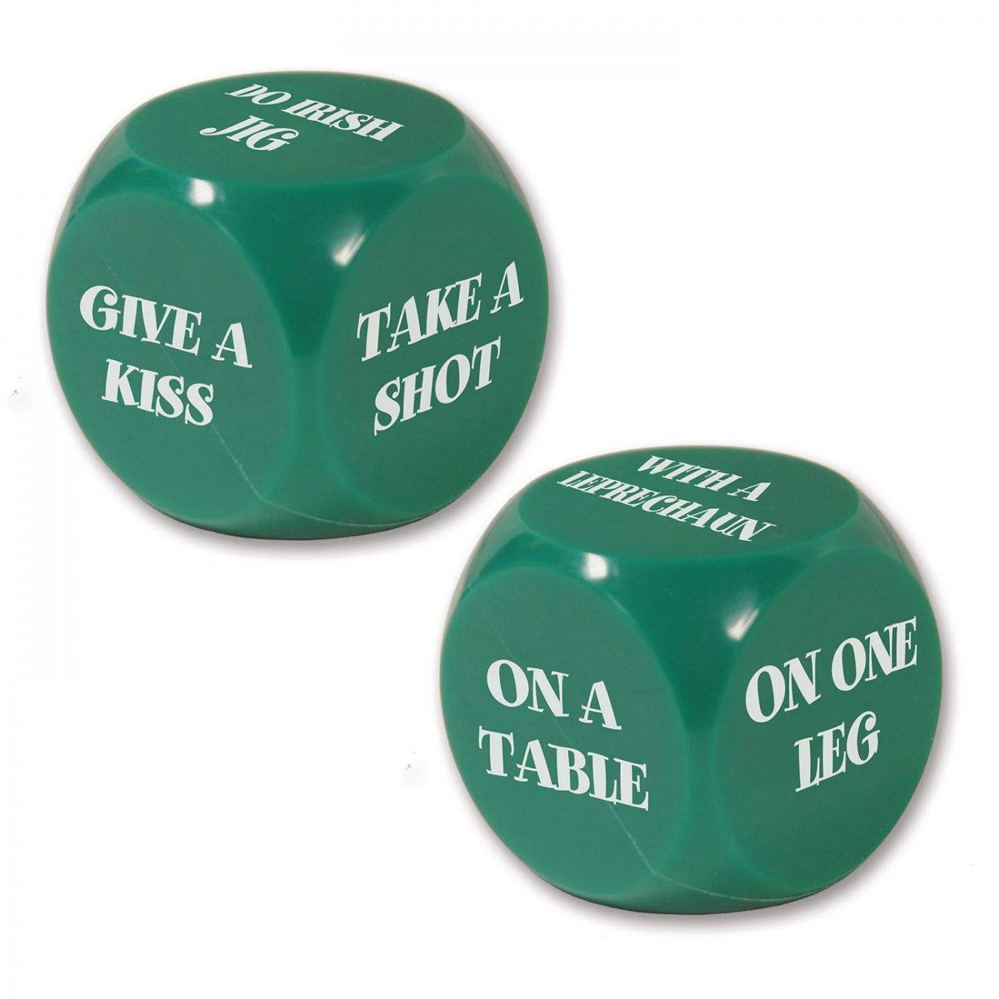 St Patrick Decision Dice Game image