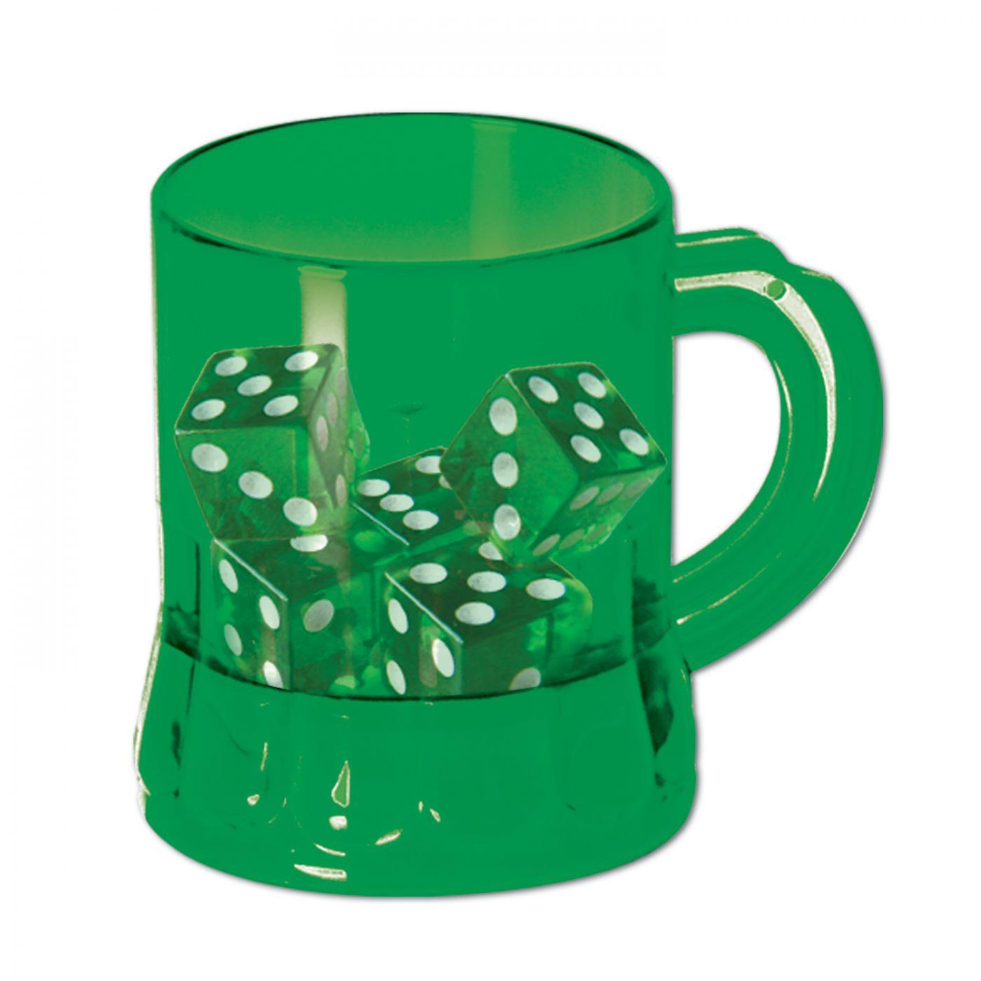 St Pat's  Mug Shot  w/Dice image