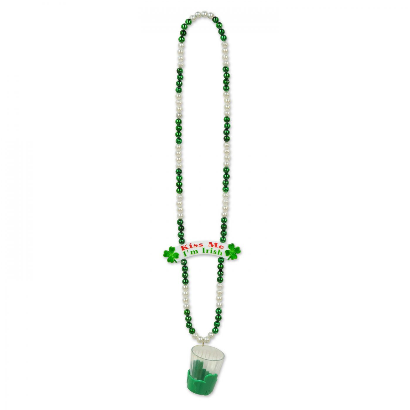 Image of Beads w/Shot Glass & Banner Bead