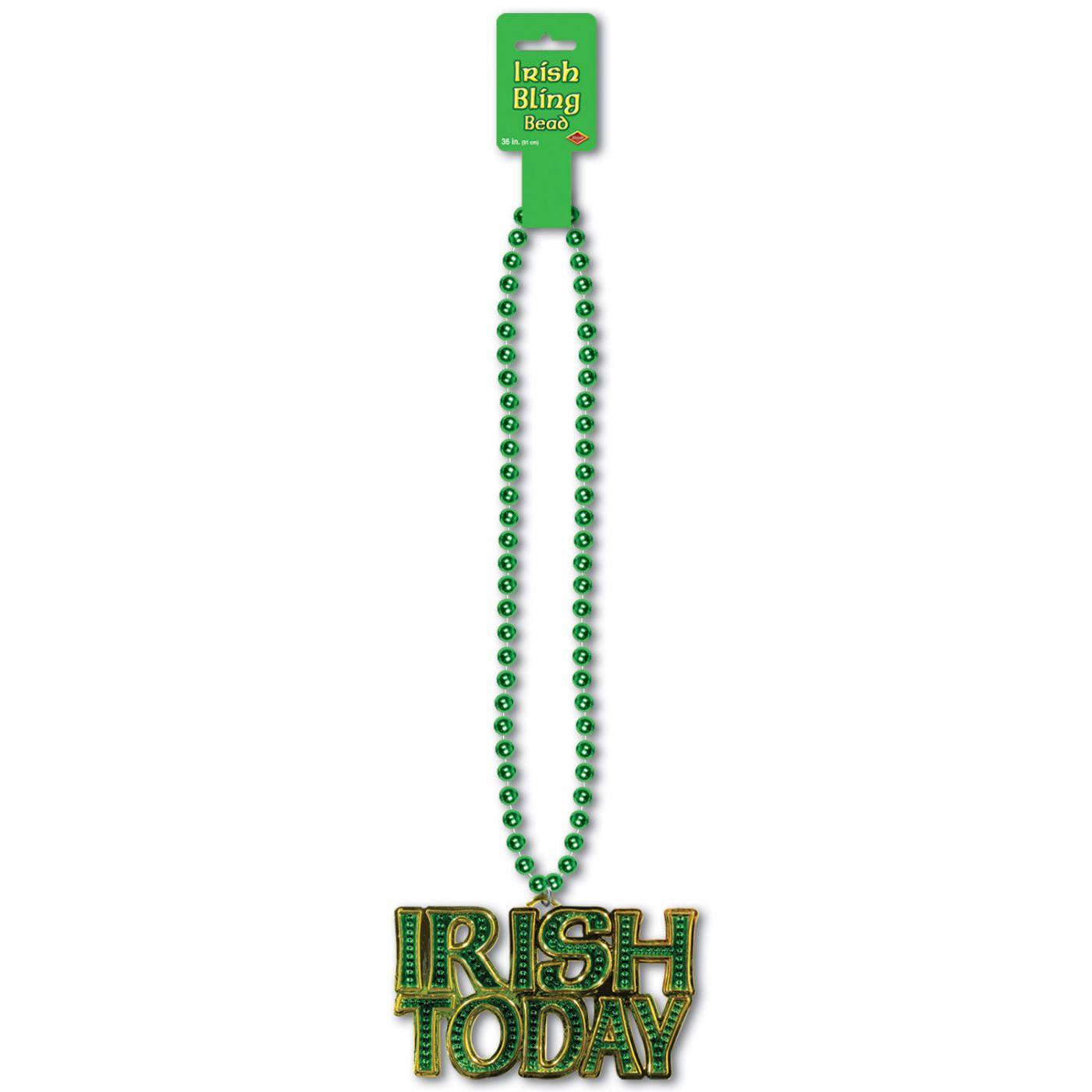 Image of Beads w/Irish Today Medallion