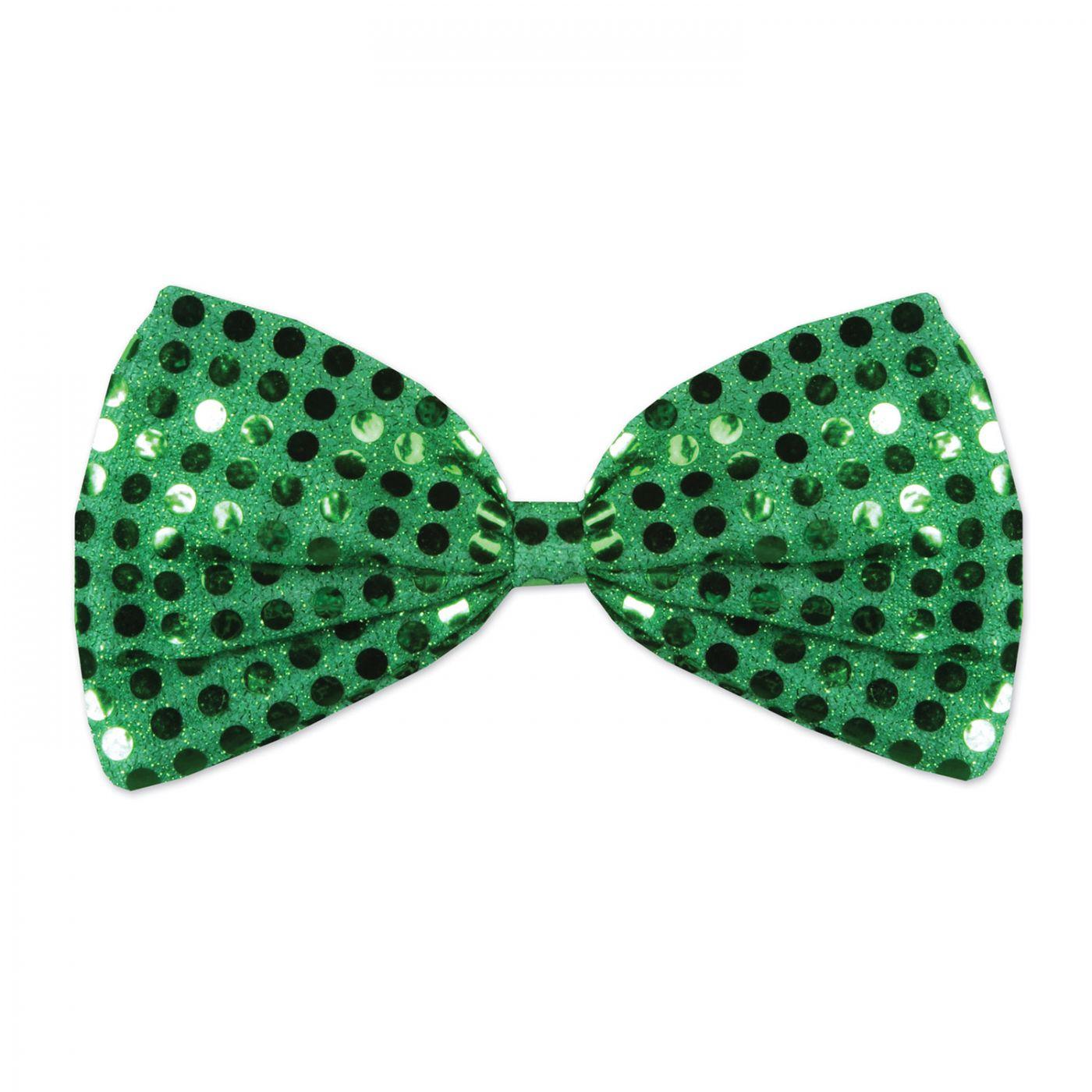 Green Glitz 'N Gleam Bow Tie image