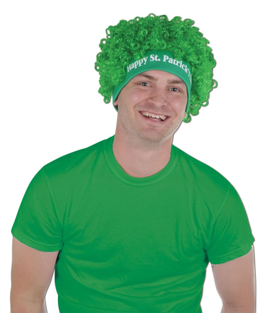 Happy St Patrick's Day Wig image