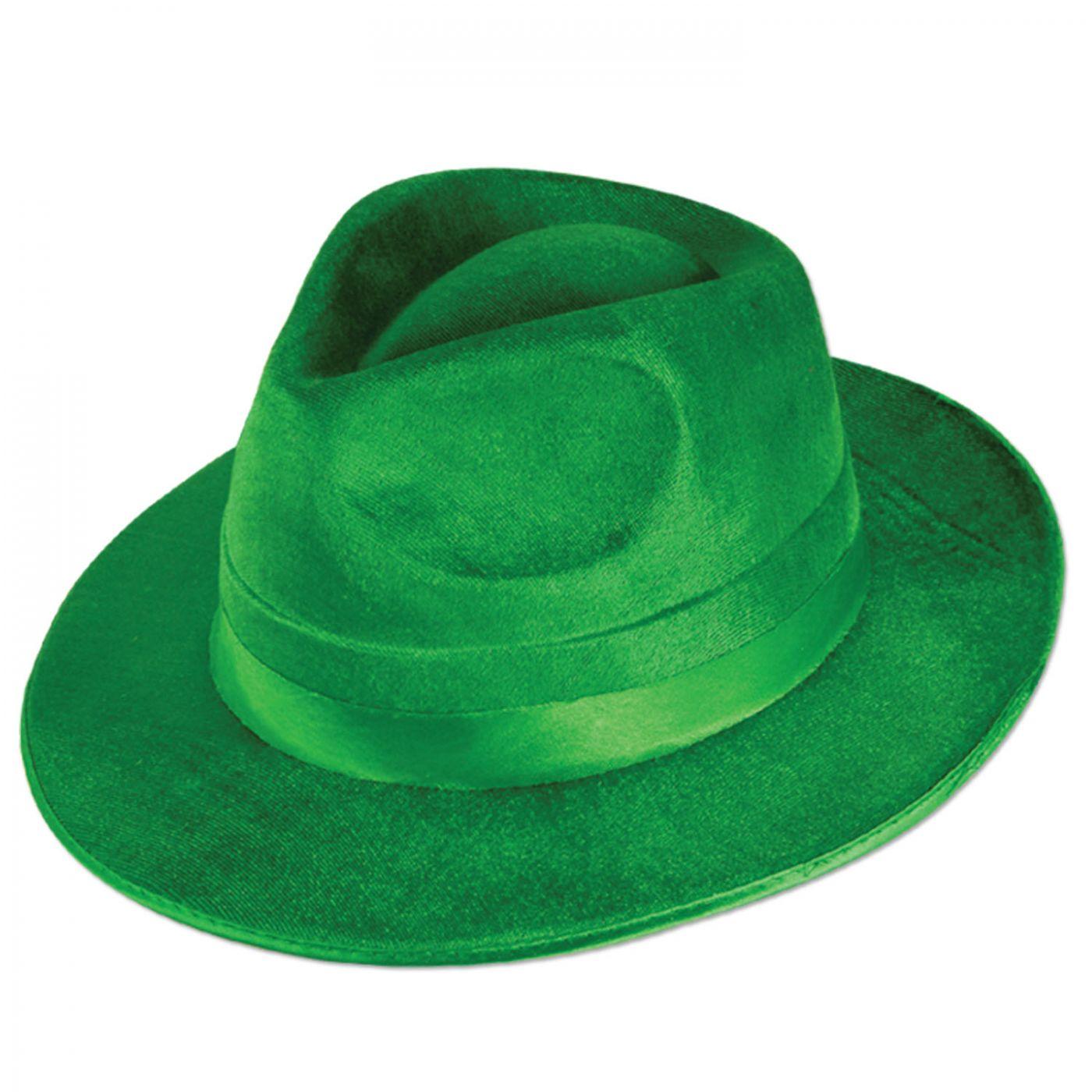 Green Vel-Felt Fedora image