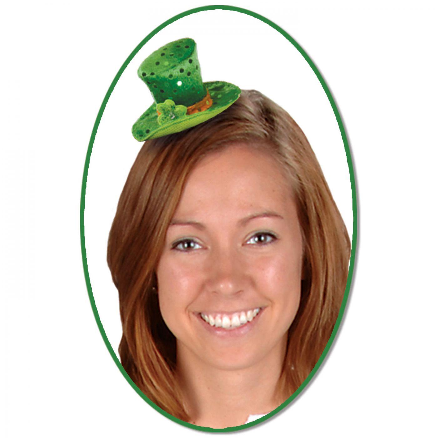 Leprechaun Hat Hair Clip image
