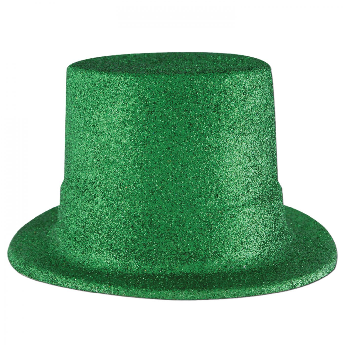 Green Glittered Top Hat (24) image