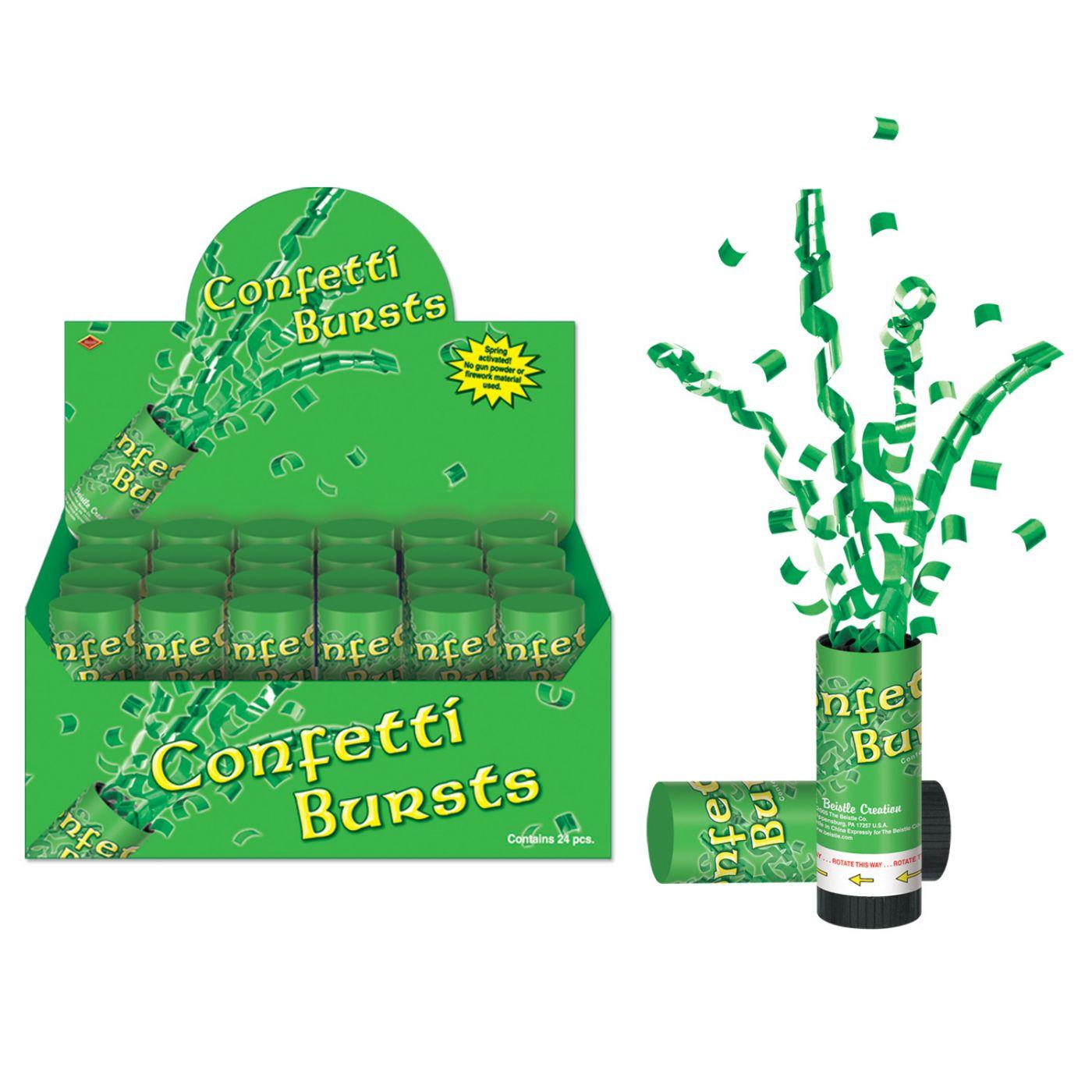 St Patrick's Day Confetti Bursts (24) image
