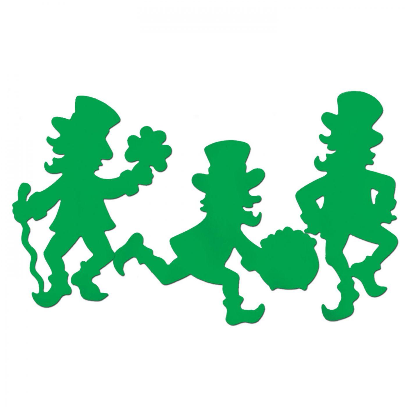 Leprechaun Silhouettes (24) image