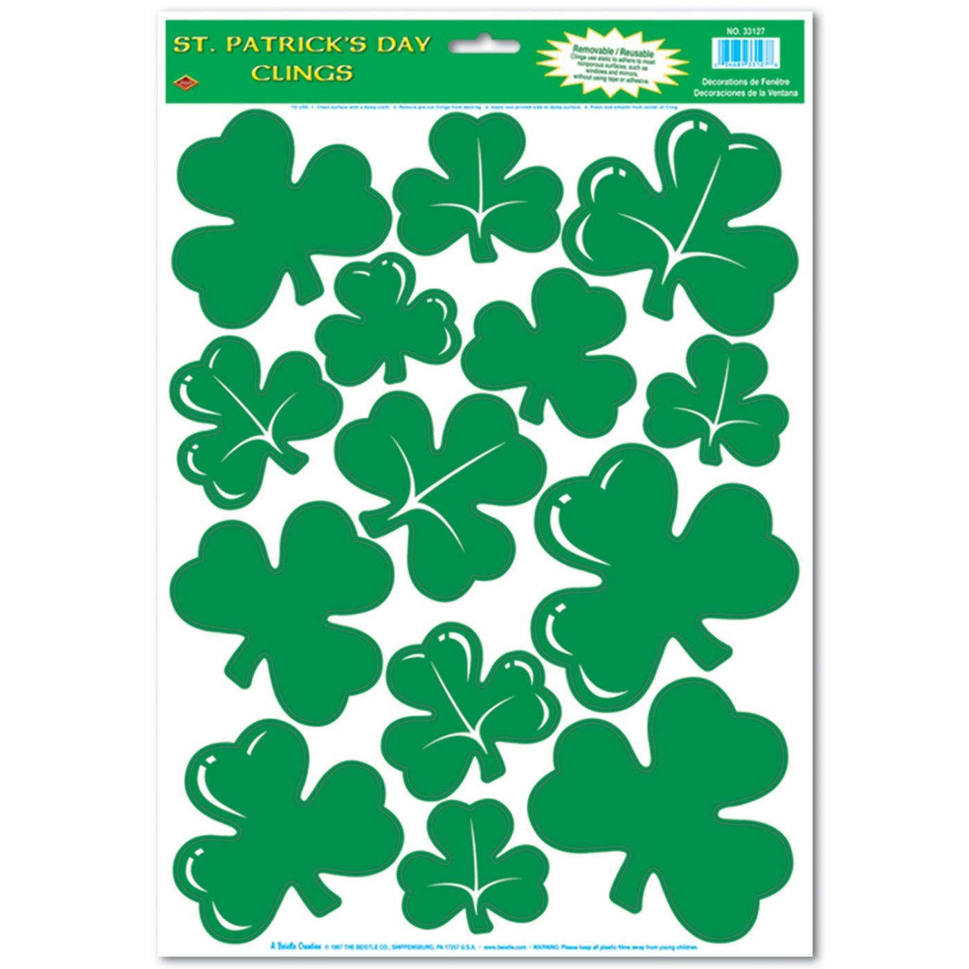 Shamrock Clings image