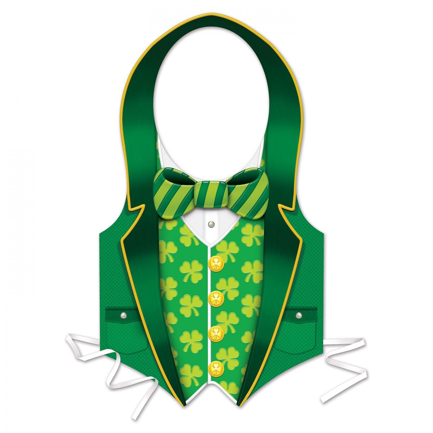 Plastic St Patrick Vest (24) image