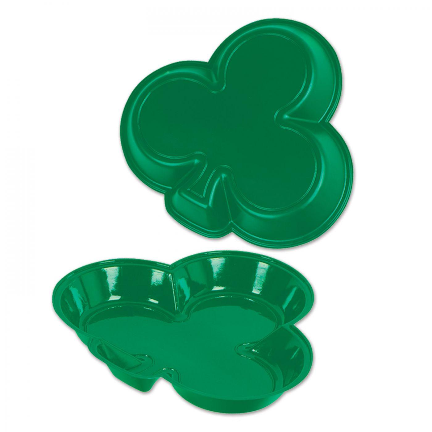 Plastic Shamrock Tray (24) image