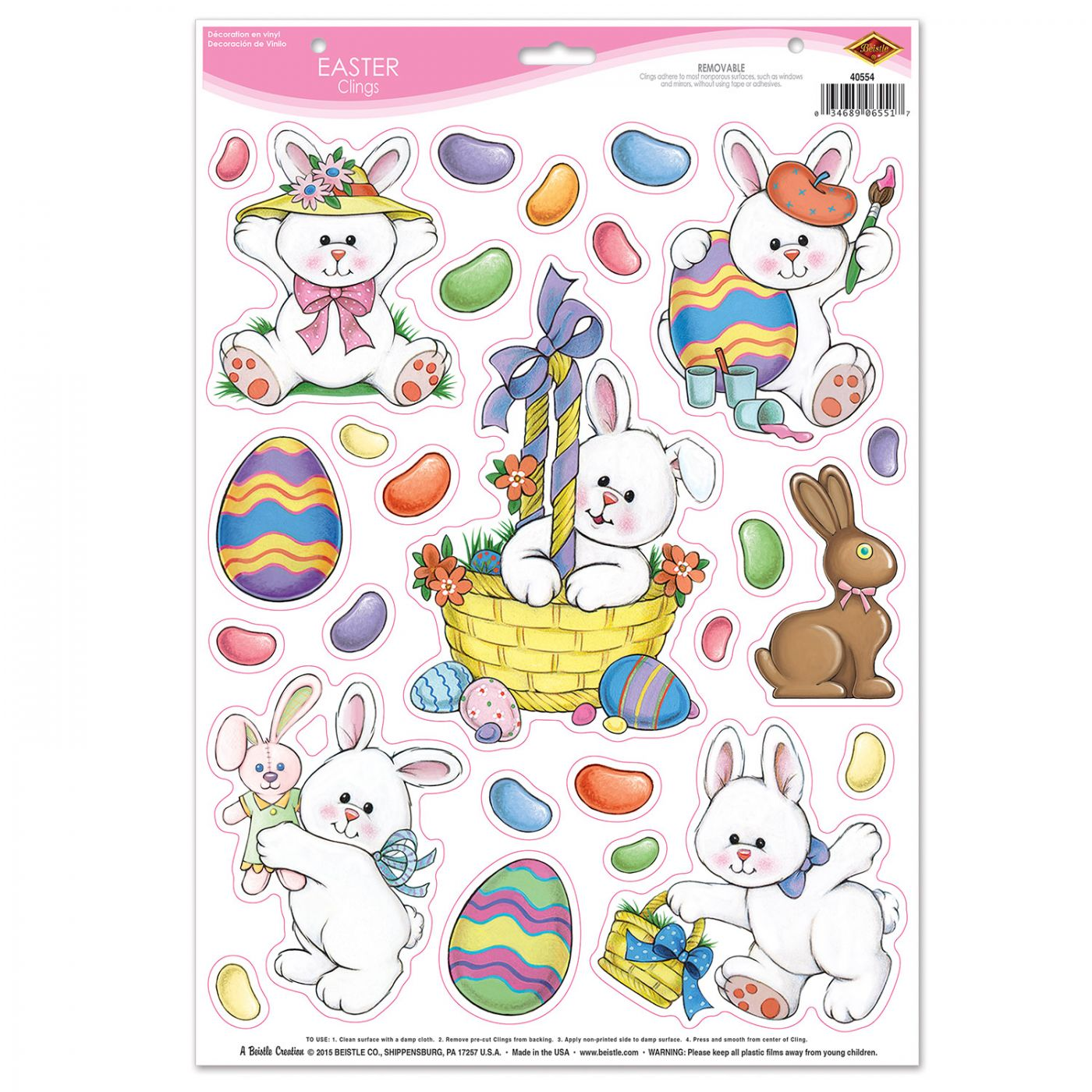 Image of Easter Clings