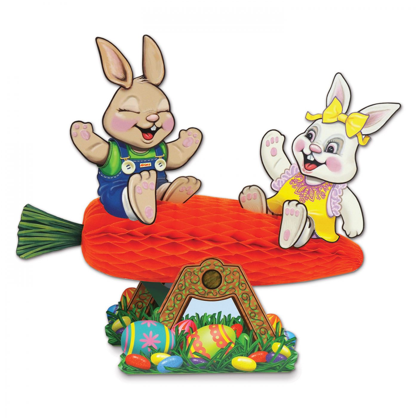 Carrot Seesaw w/Bunnies image