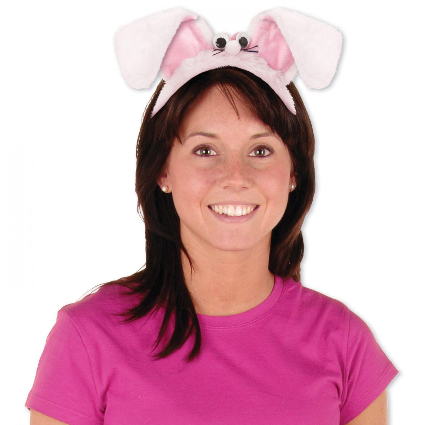 Plush Bunny Ears Headband image