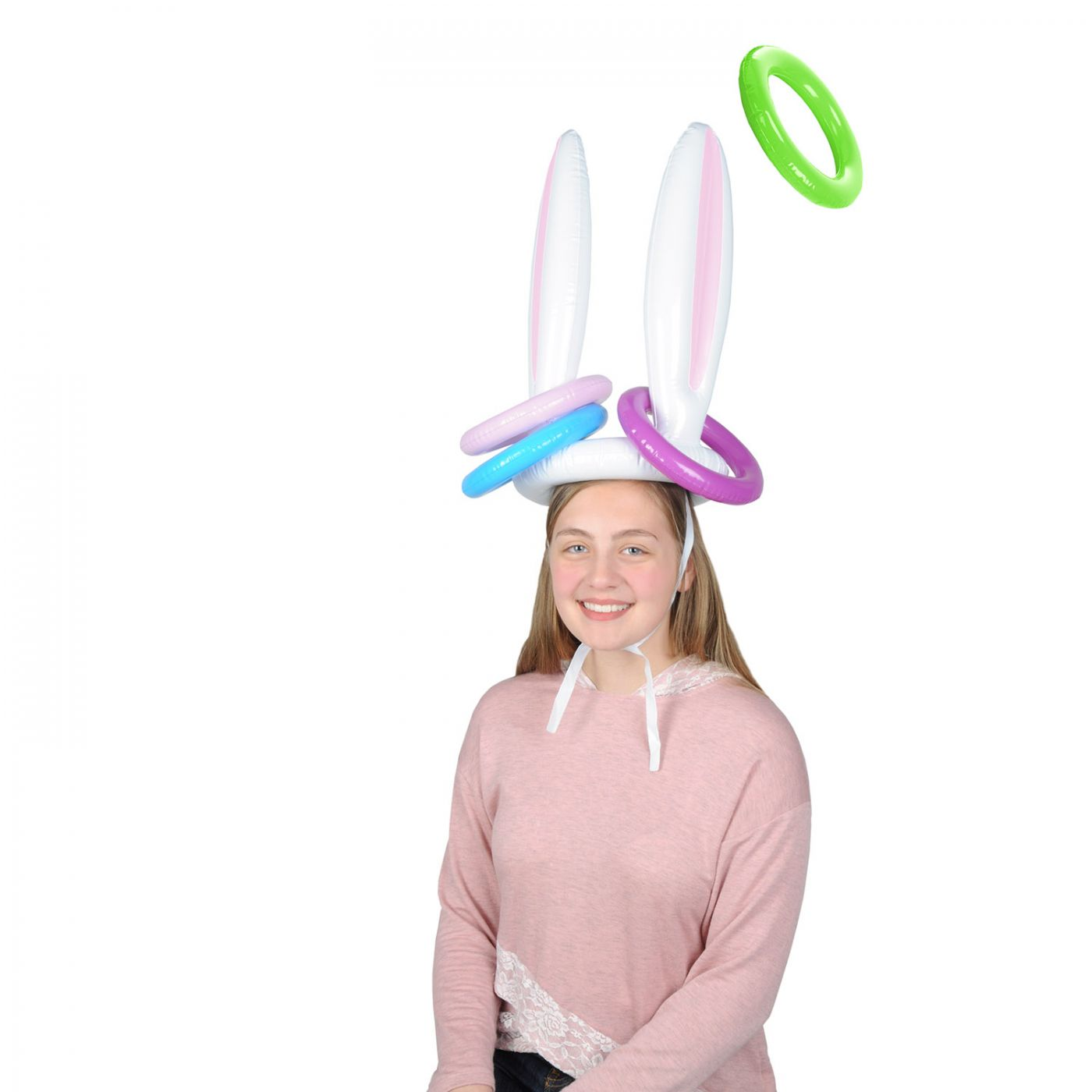 Inflatable Bunny Ears Ring Toss image