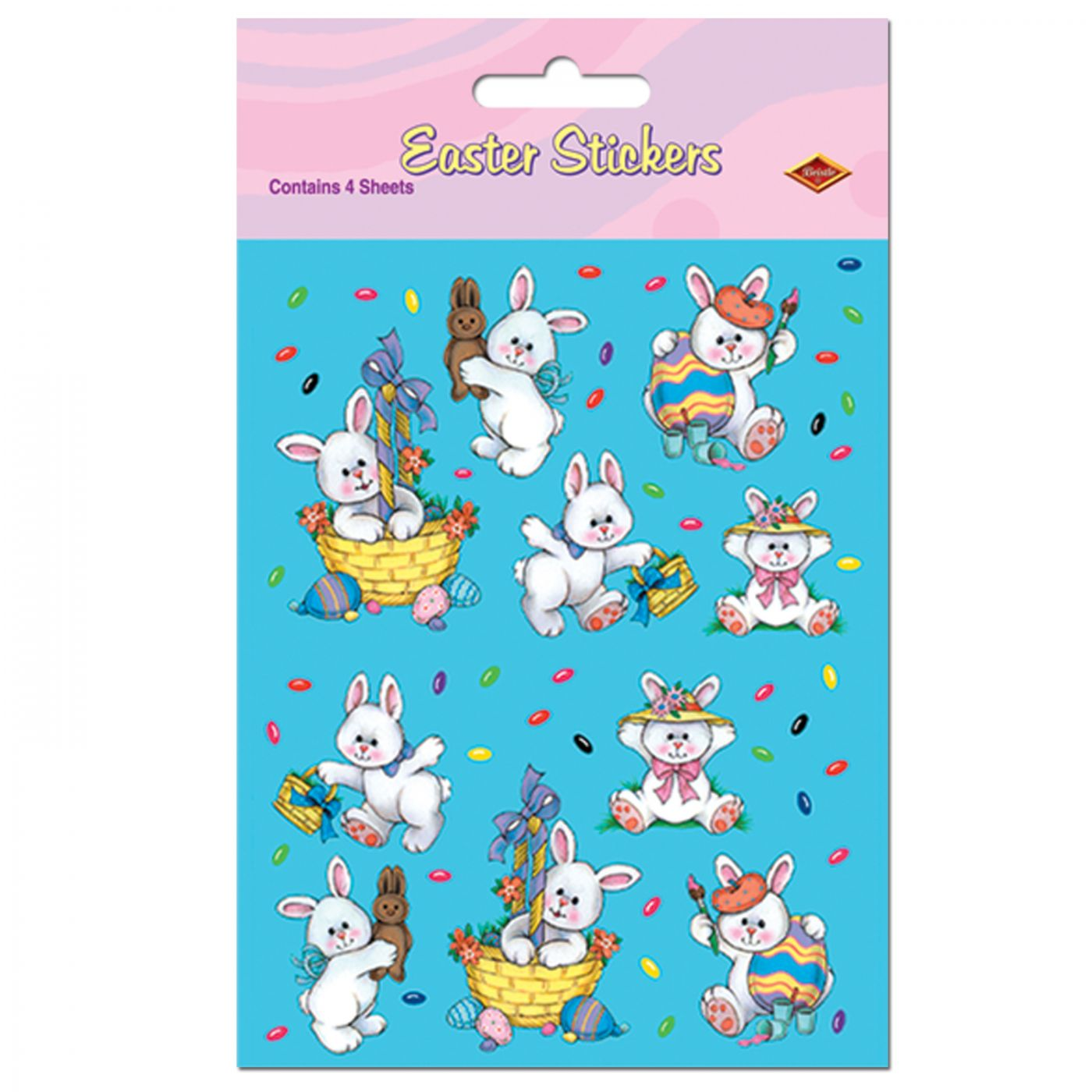 Easter Bunny Stickers image