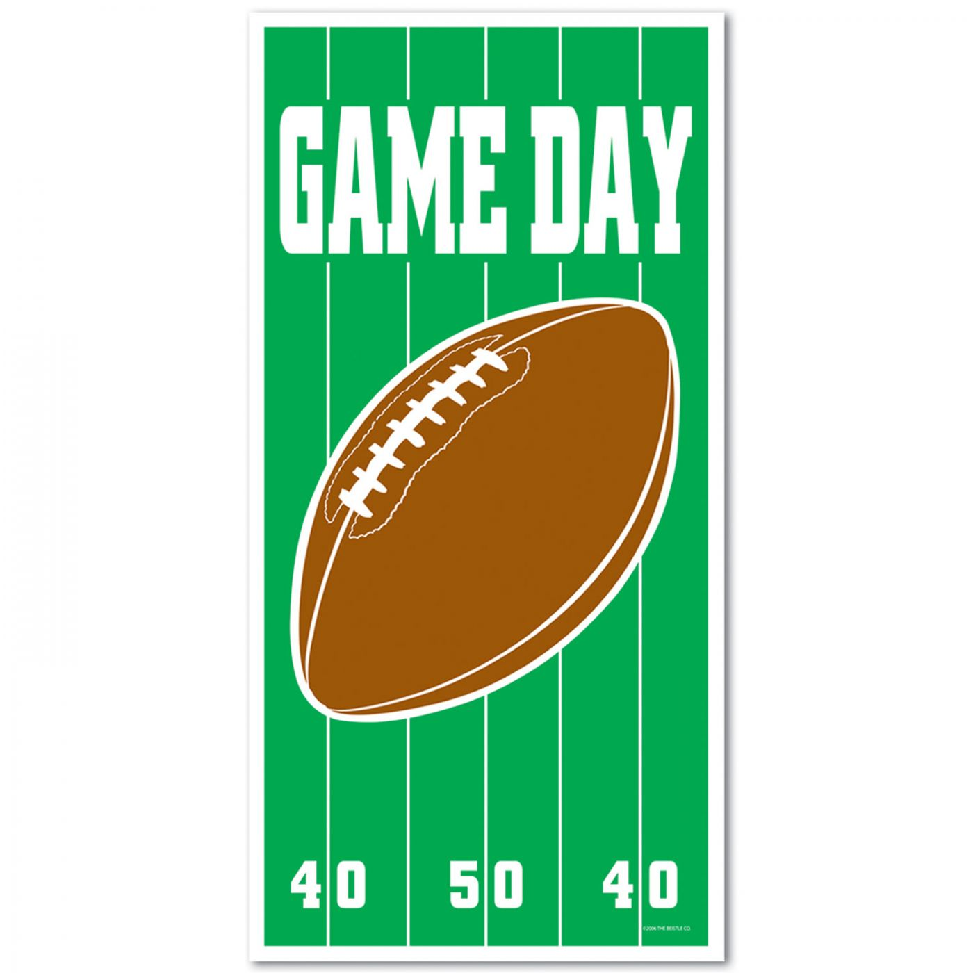 Game Day Football Door Cover image