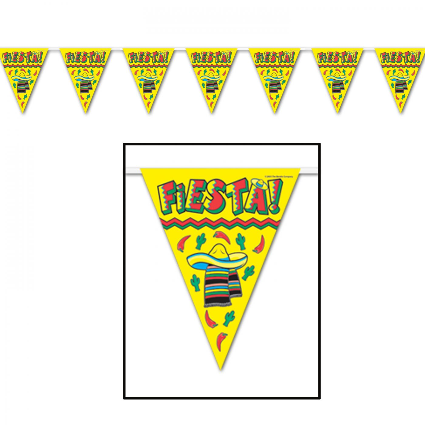 Fiesta! Pennant Banner image