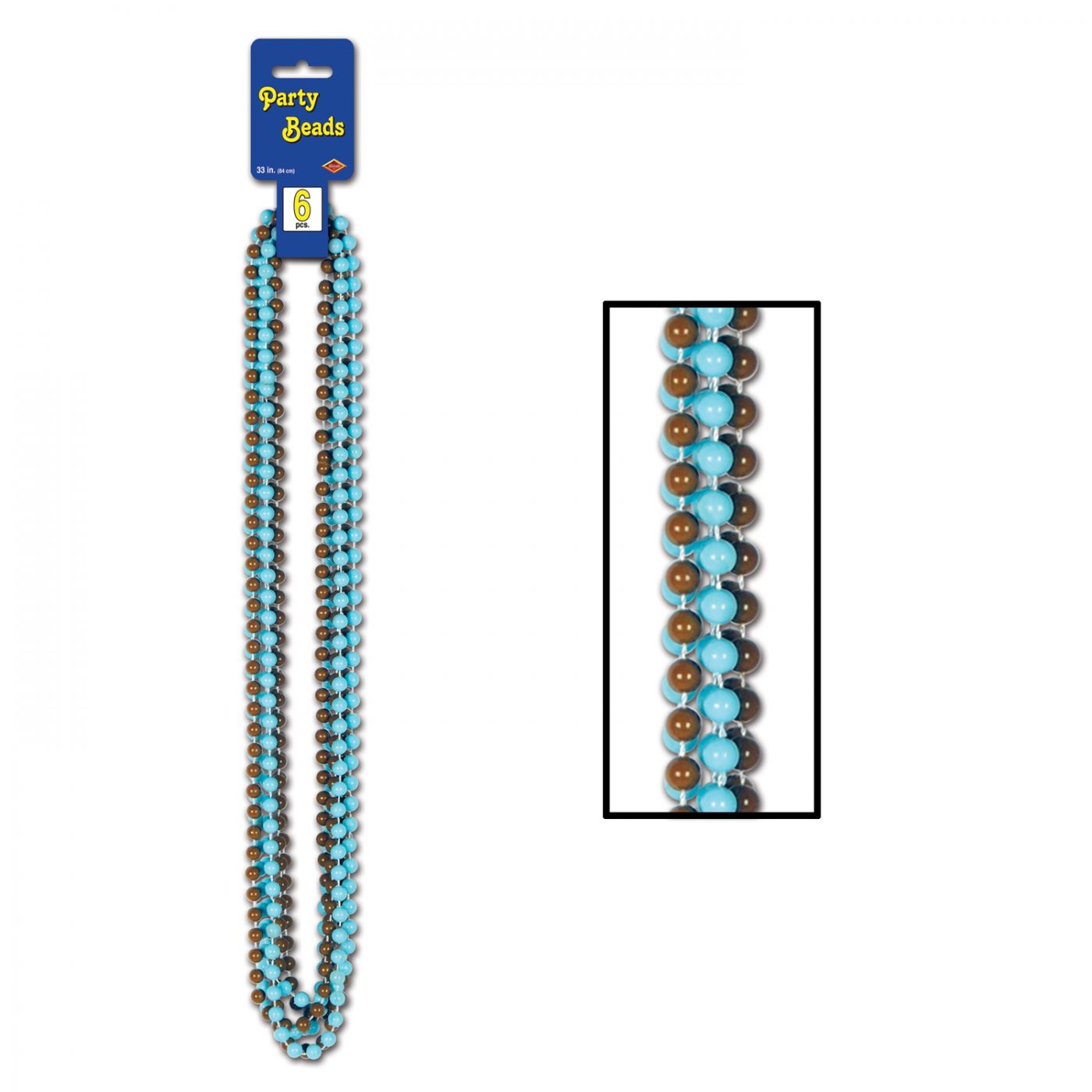 Party Beads - Small Round image