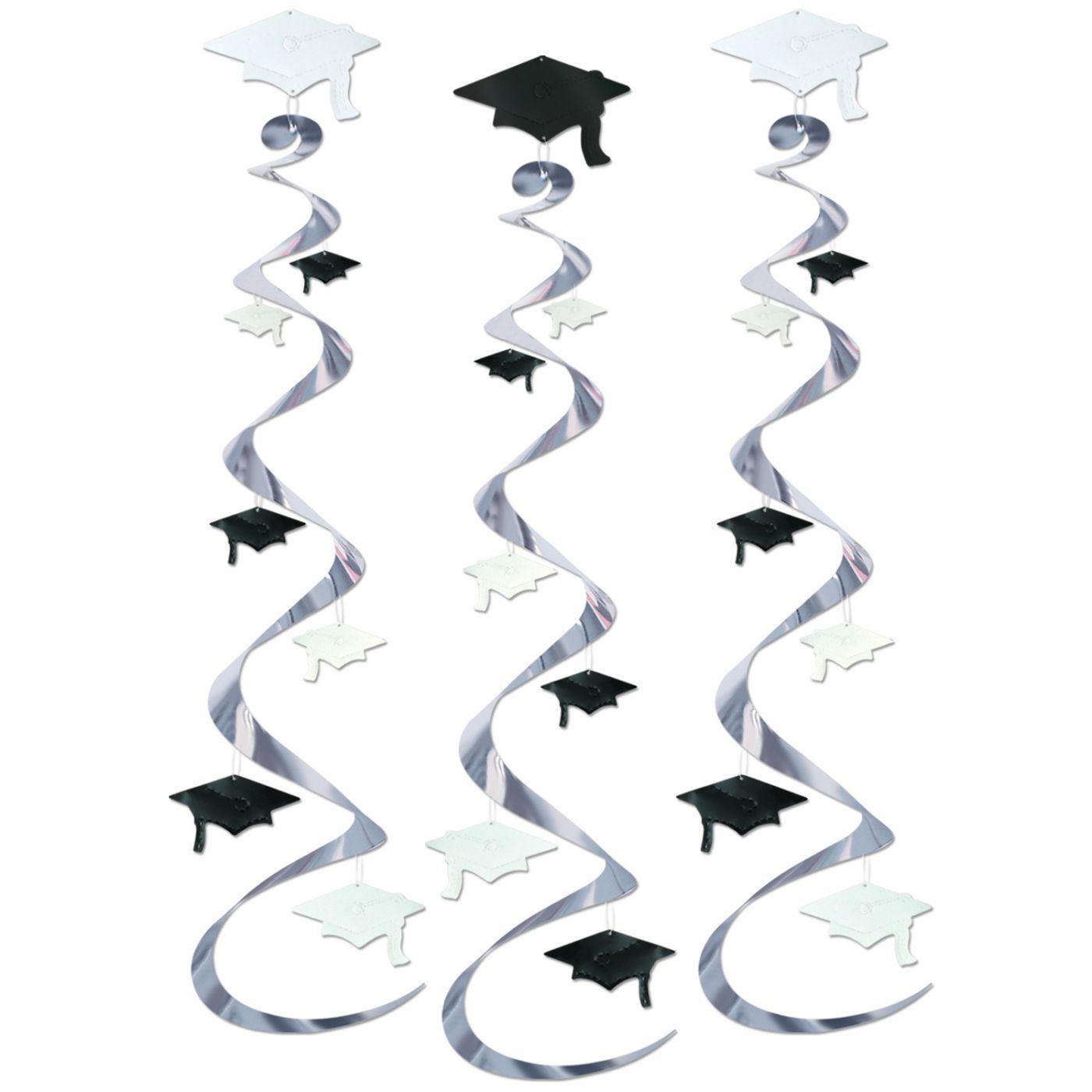 Grad Cap Whirls (6) image