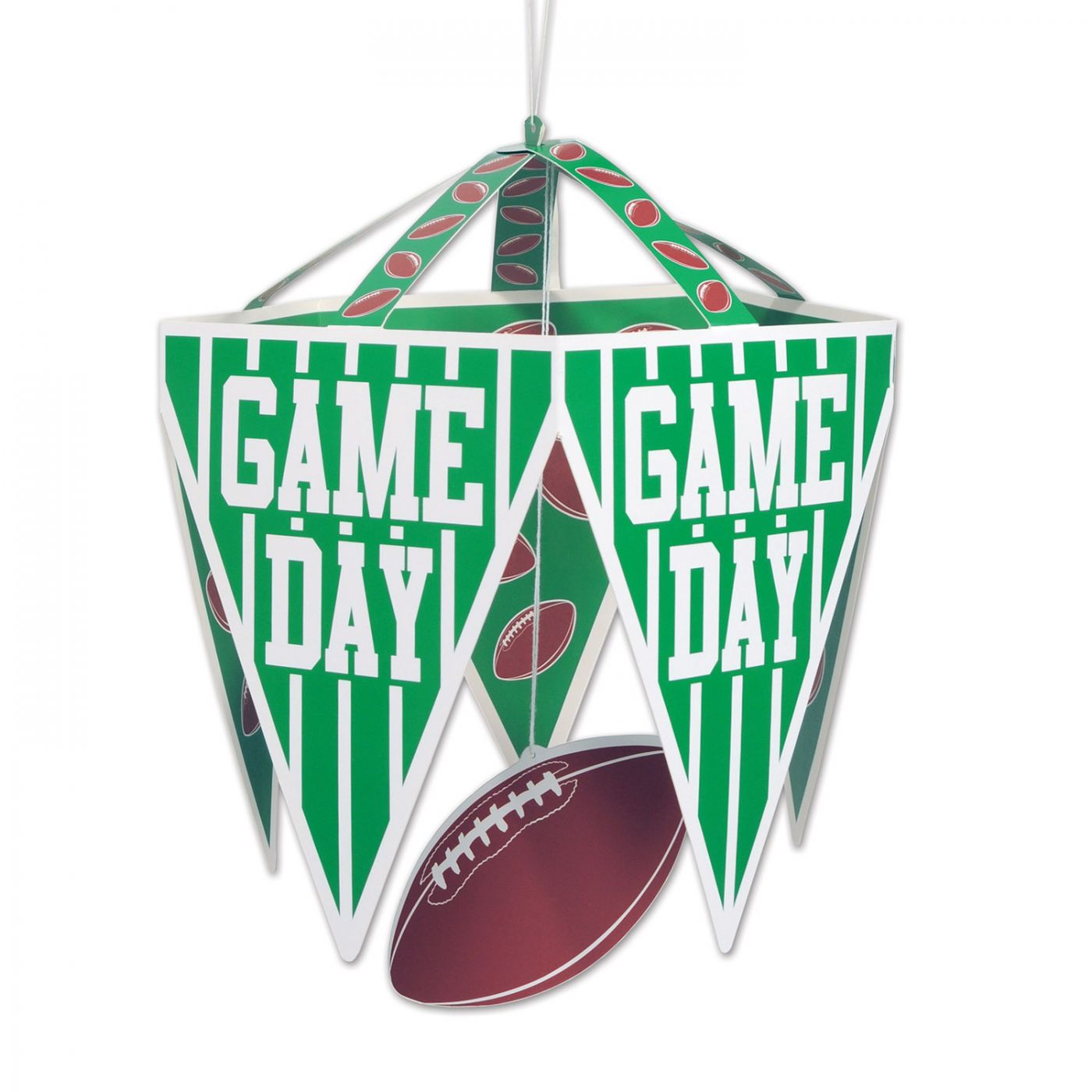 Game Day Pennant Chandelier image