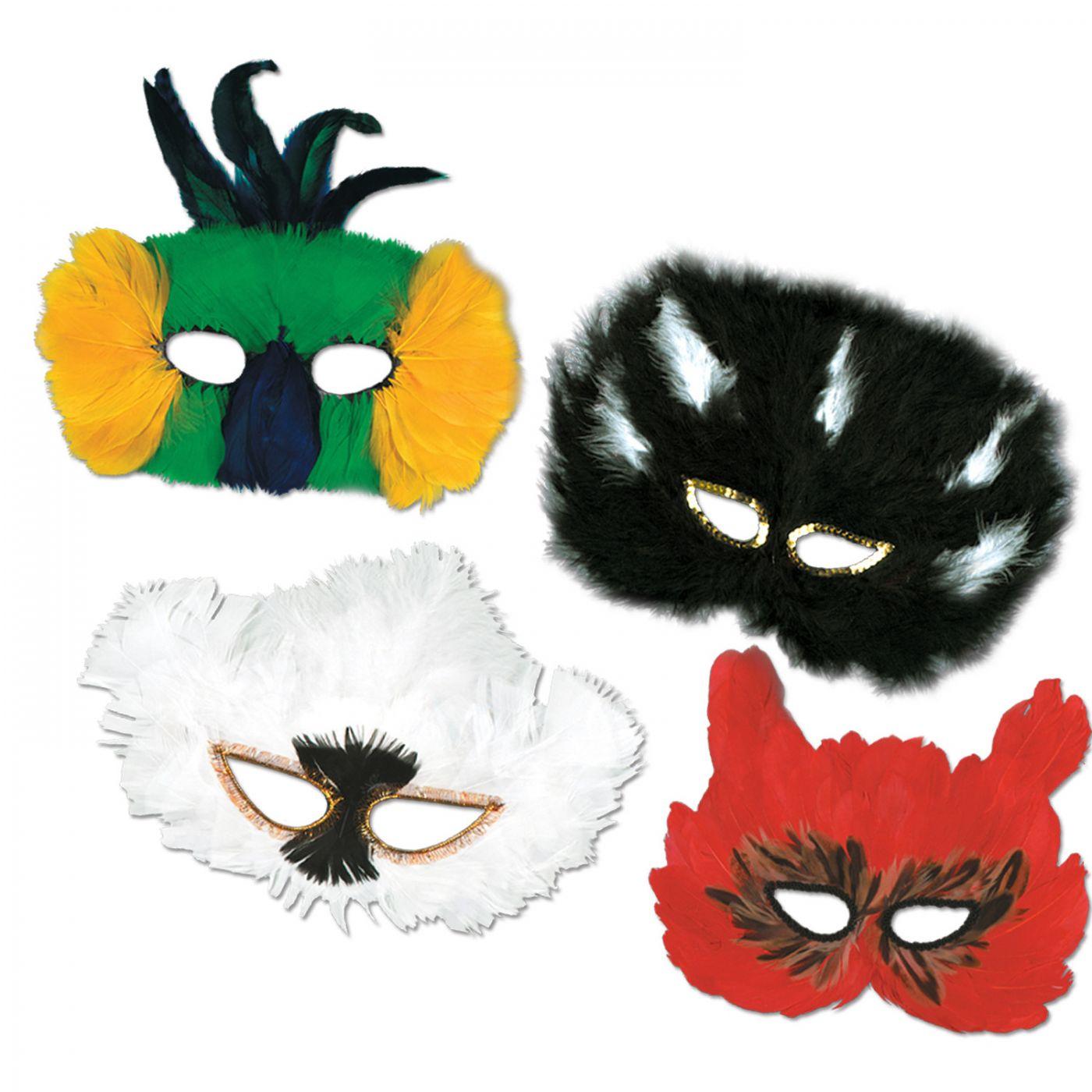 Classic Fanci-Feather Masks image