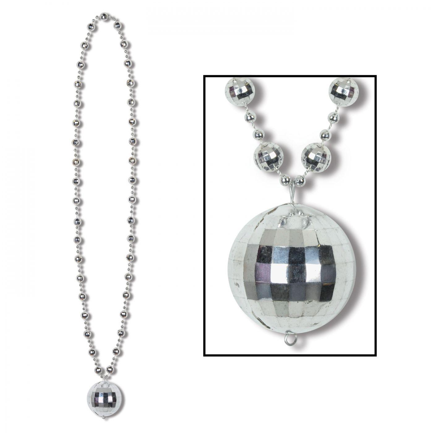 Image of Disco Ball Beads w/Disco Ball Medallion