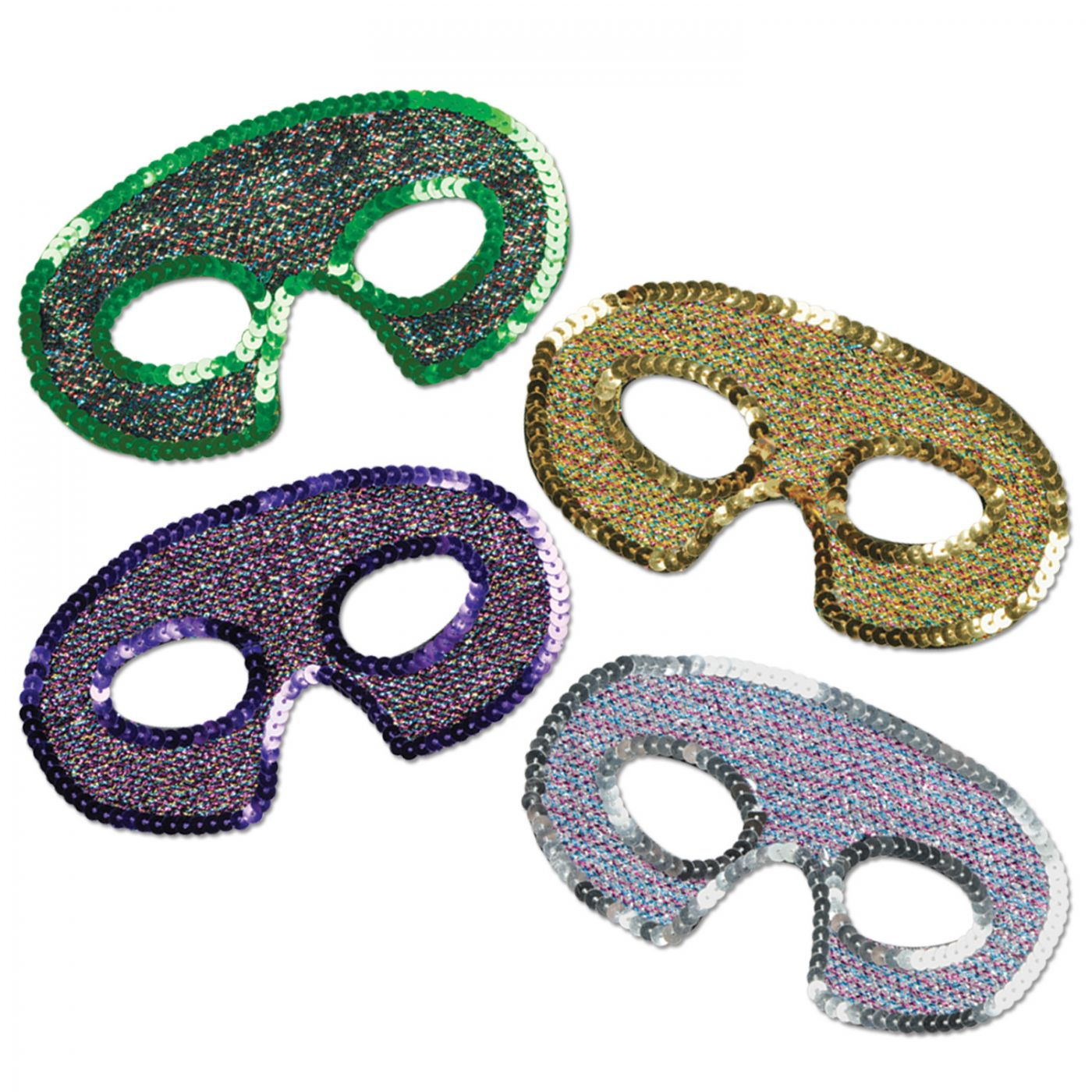 Sequin-Lame Half Masks image