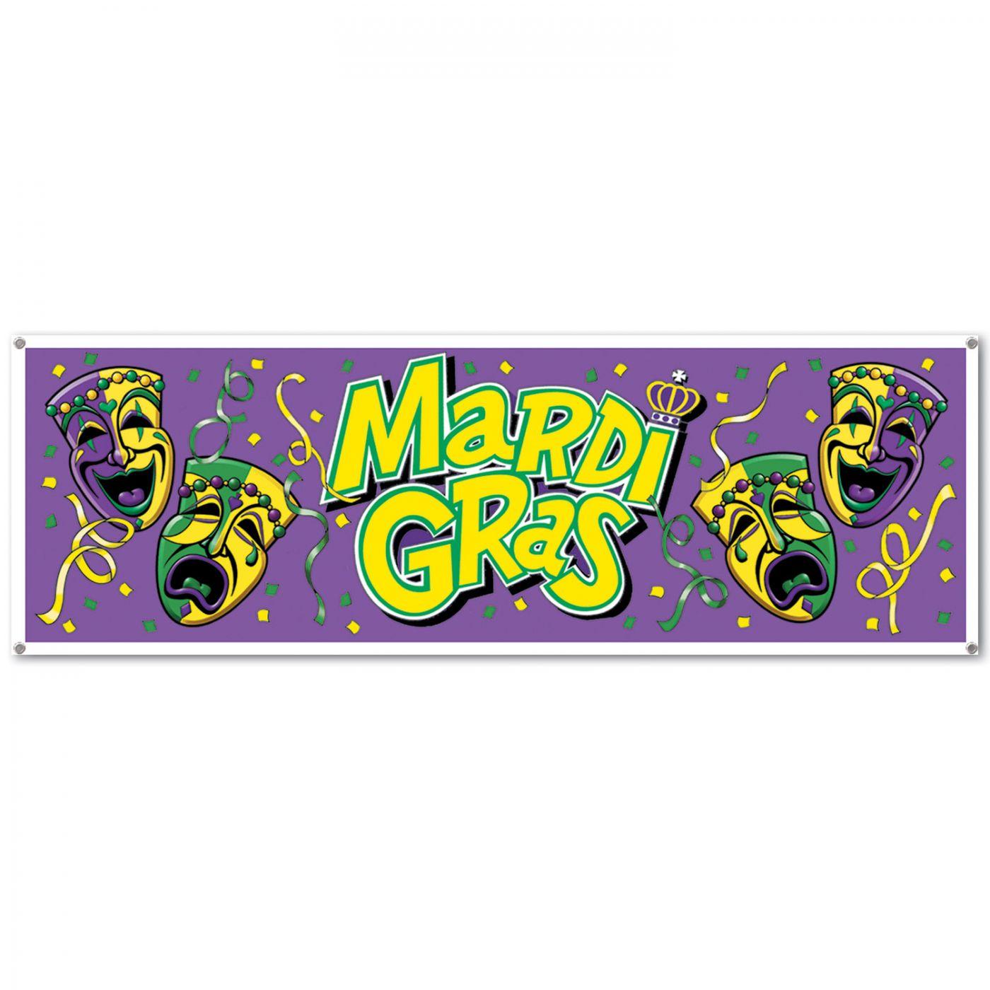 Mardi Gras Sign Banner image