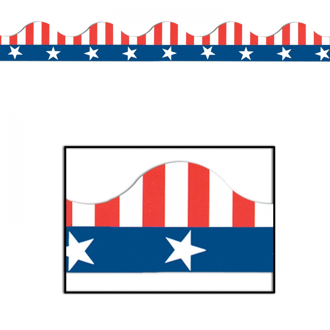 Patriotic Border Trim image