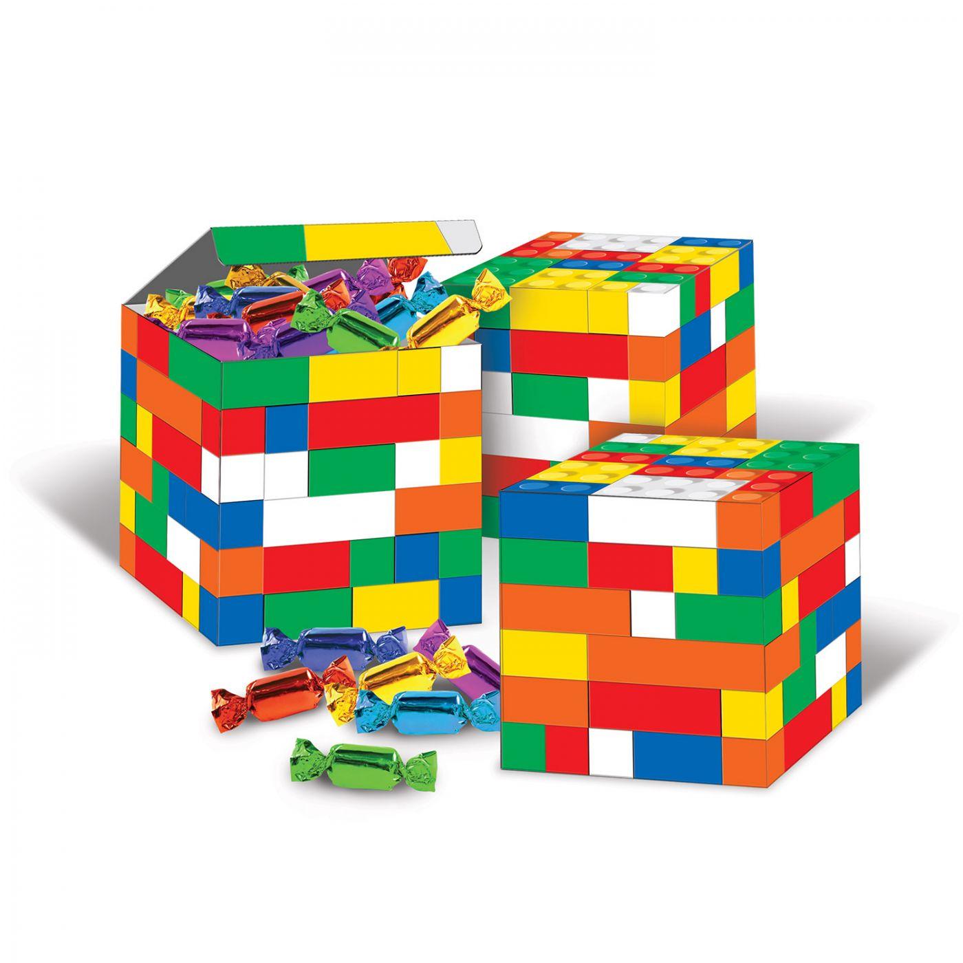 Image of Building Blocks Favor Boxes