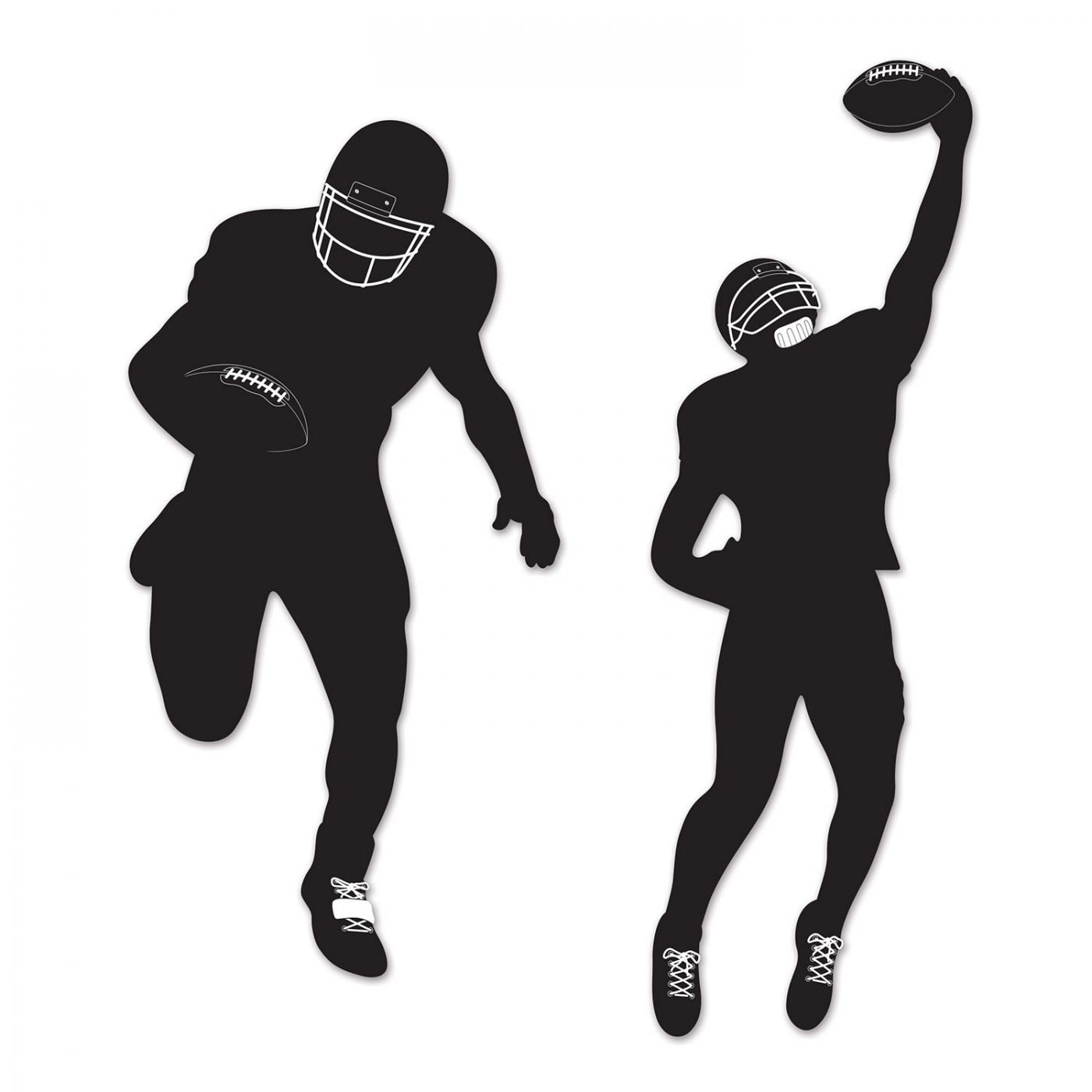 Football Silhouettes image