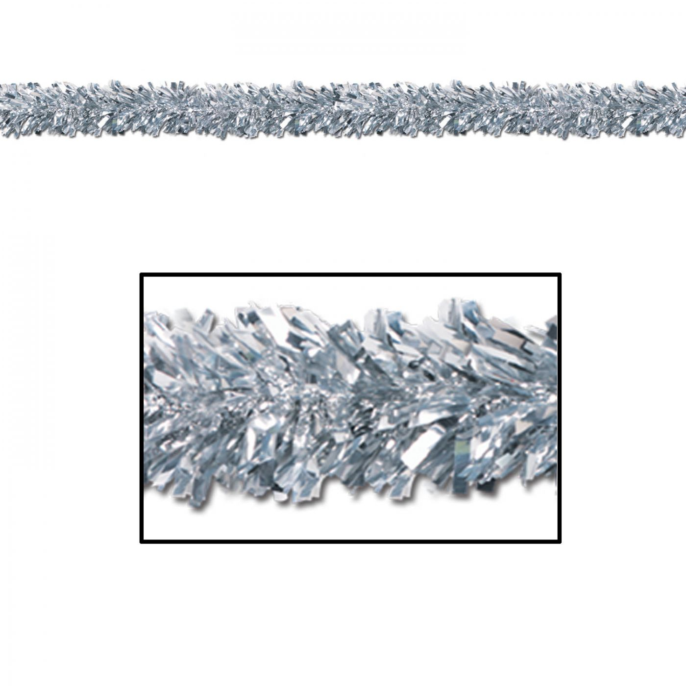 Image of 6-Ply FR Metallic Festooning Garland