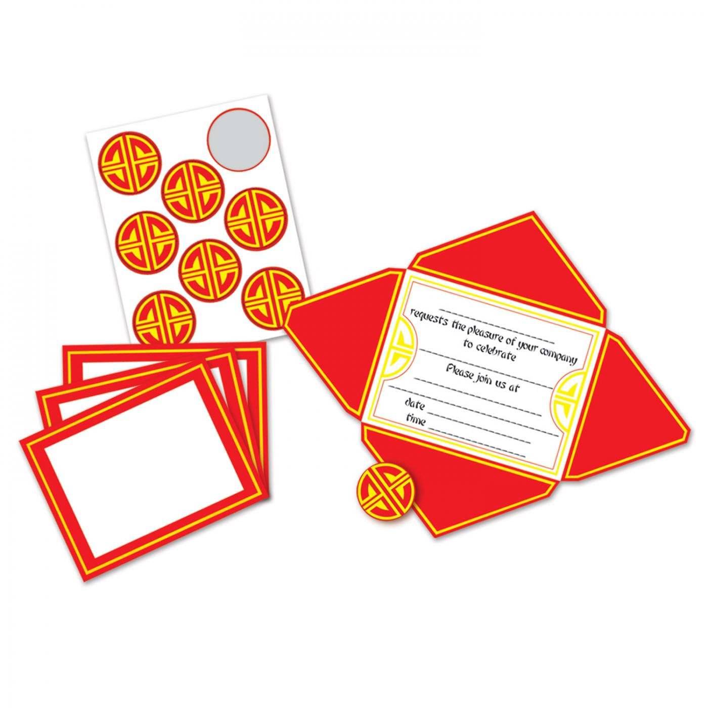 Chinese Invitations & Seals image