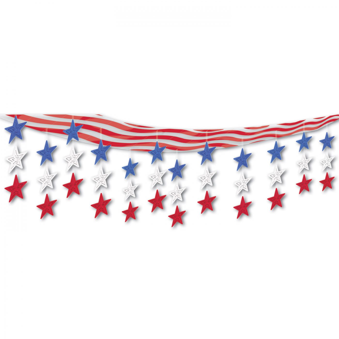 Stars & Stripes Ceiling Decor (6) image