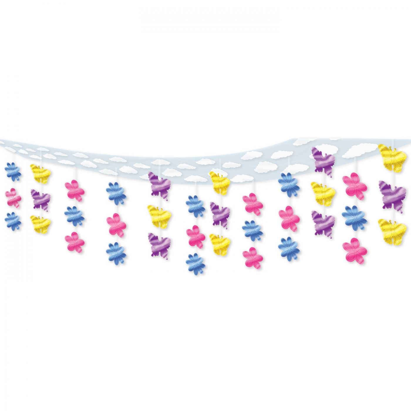 Butterfly & Flower Ceiling Decor (6) image