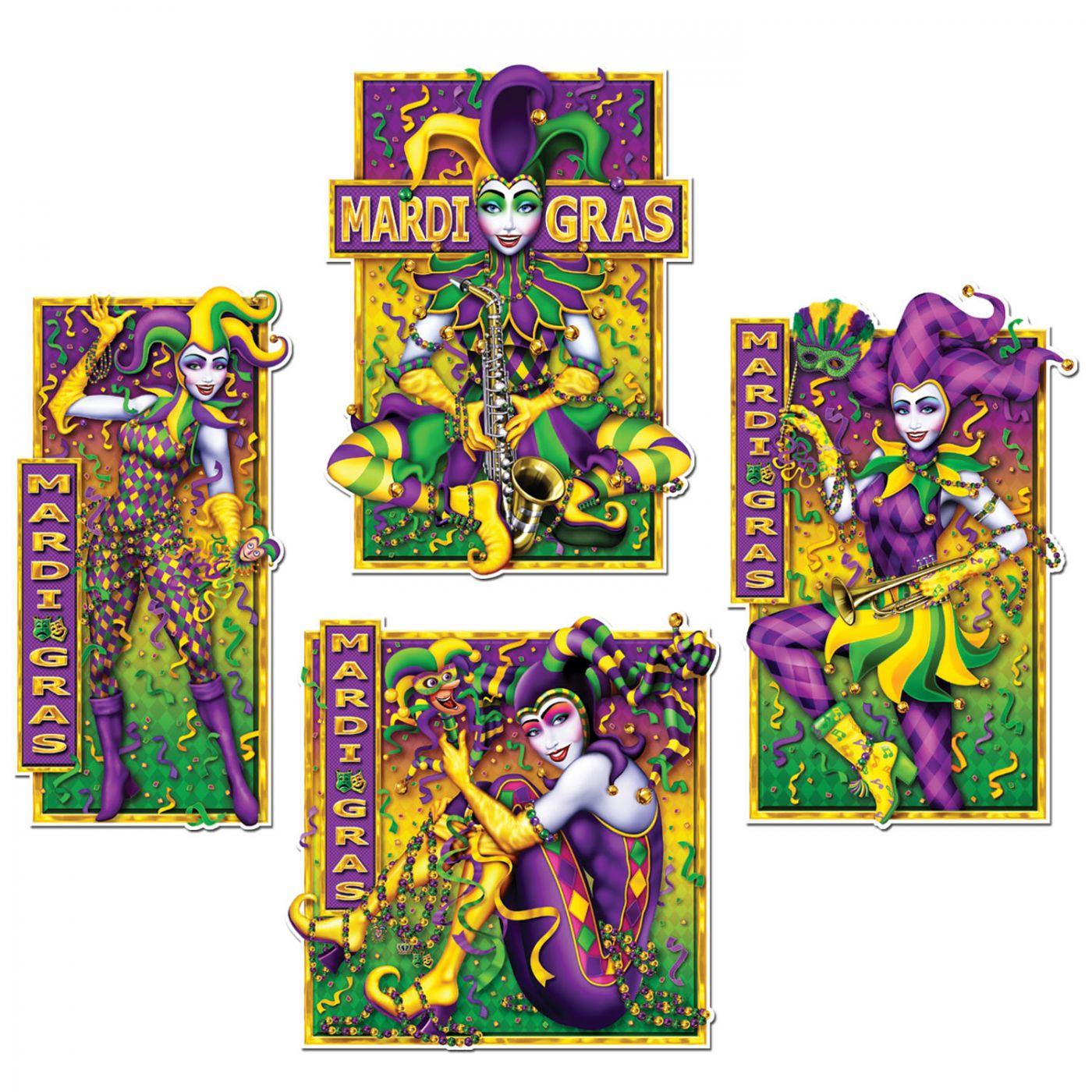 Masquerade Mime Cutouts image