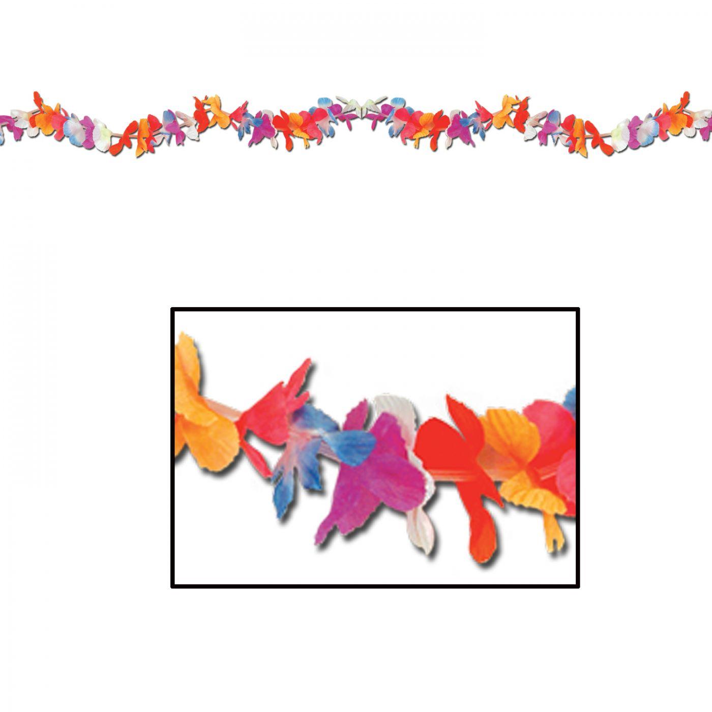 Silk 'N Petals Parti-Color Garland image