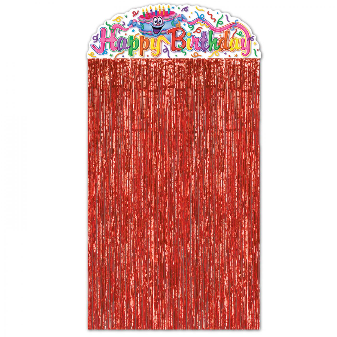 Birthday Cake Character Curtain image