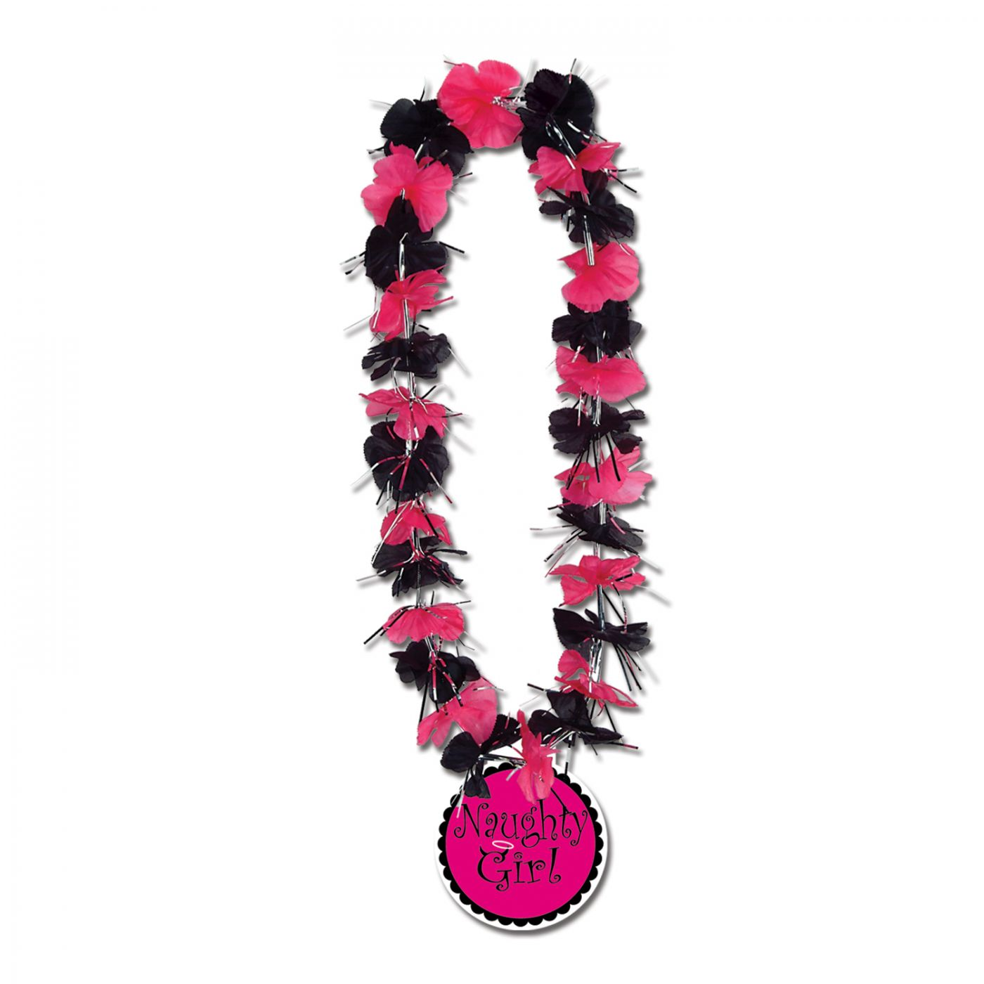 Party Lei w/Naughty Girl Medallion image